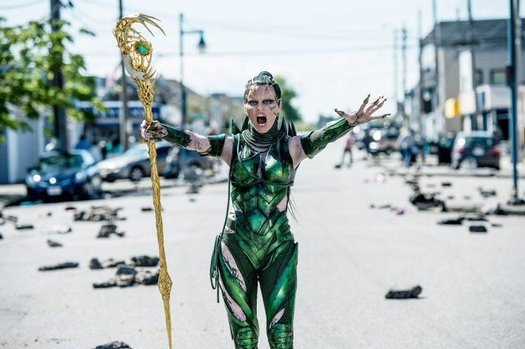 Elizabeth Banks as Rita Repulsa in 'Power Rangers.' (Photo: Kimberly French/Lionsgate/Courtesy of the Everett Collection)