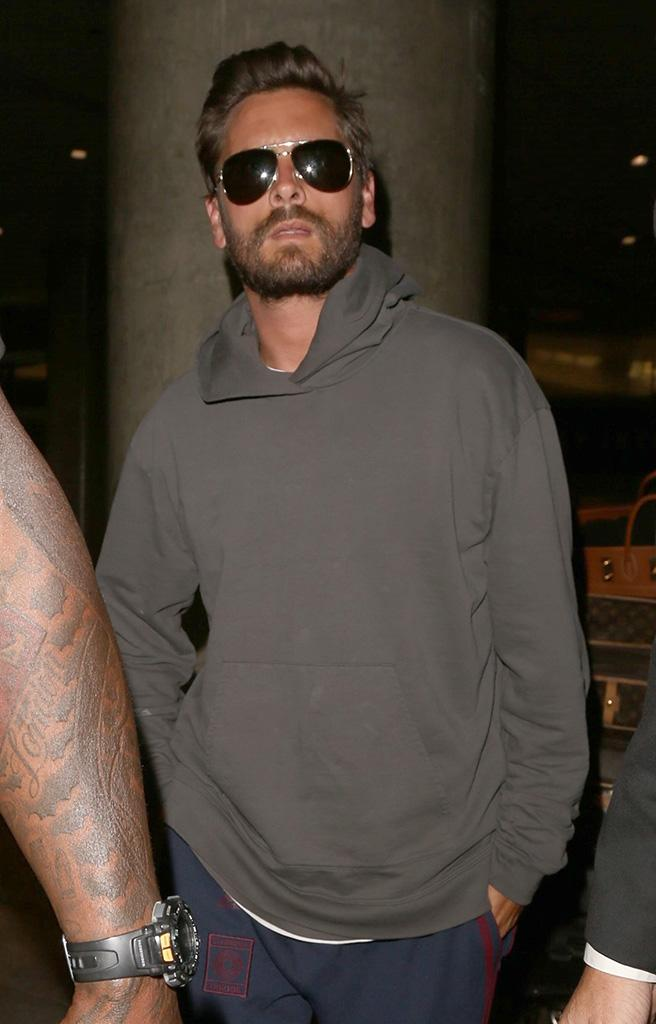 cott Disick arrives to LAX after flying home solo after a week of partying for his birthday.