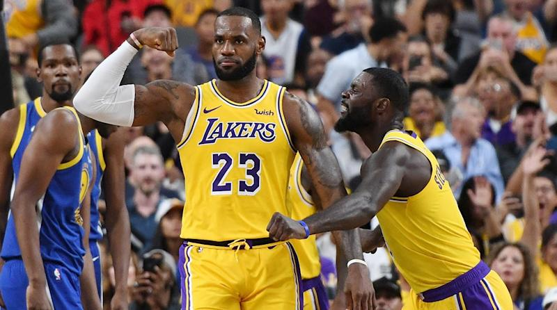 ecaa28c1cf9 Los Angeles Lakers and LeBron James Season Odds/Props Roundup