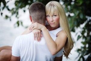 From left: Keith and Sherri Papini