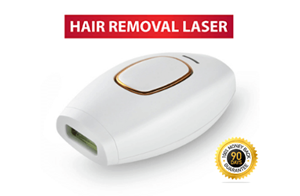 Tons of women rely on the Belle Bella IPL Device Hair Removal System because it's the Number One selling at-home permanent hair removal device!