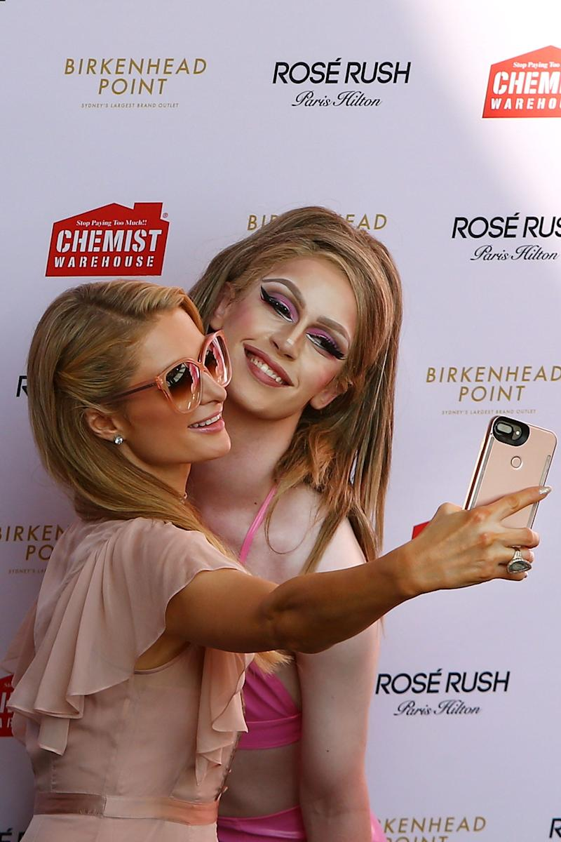 "Many have said that Hilton is ""the archetype"" for ""the perfect selfie"" that many young girls aspire to achieve today."