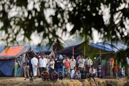 Rohingya refugees at risk from cyclone season
