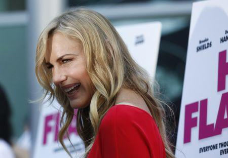 """FILE PHOTO: Hannah poses at the premiere of """"The Hot Flashes"""" in Los Angeles"""
