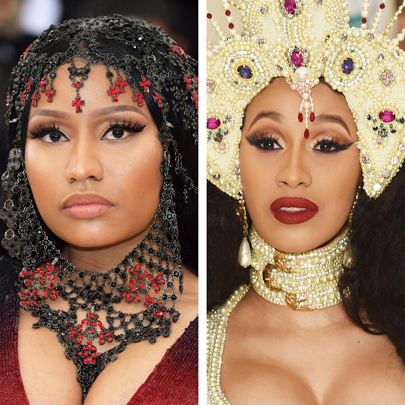 Cardi B Reportedly Received a $5,000 Gift Basket From Nicki Minaj After Giving Birth