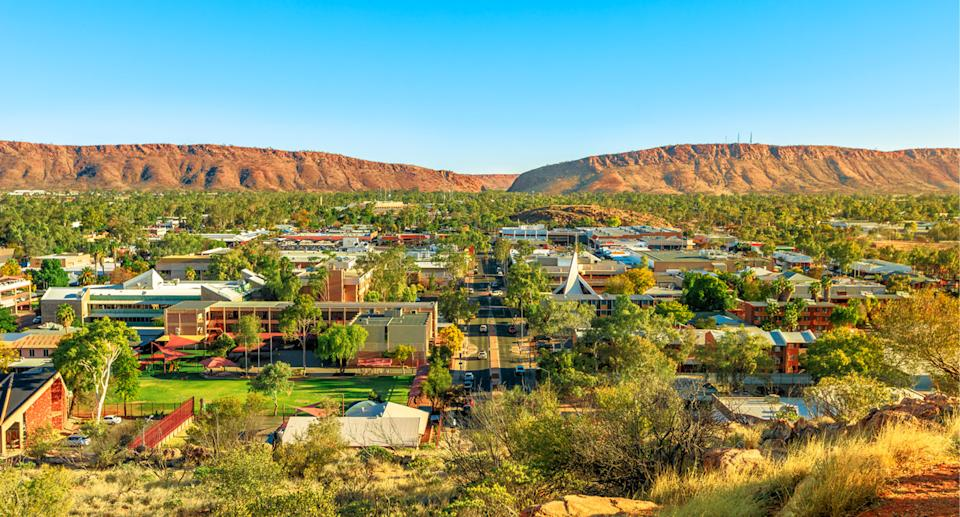 Alice Springs will undergo a snap 72-hour lockdown. Source: Getty (file)