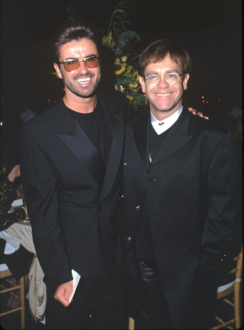 George Michael and Elton John  (Photo: SGranitz via Getty Images)