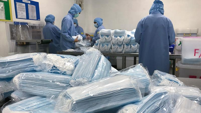 If there's a second surge of the virus in countries like China, Taiwan and Brazil where materials are sourced from, PPE production would be hurt