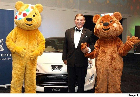 Peugeot, Terry Wogan and Pudsey Bear