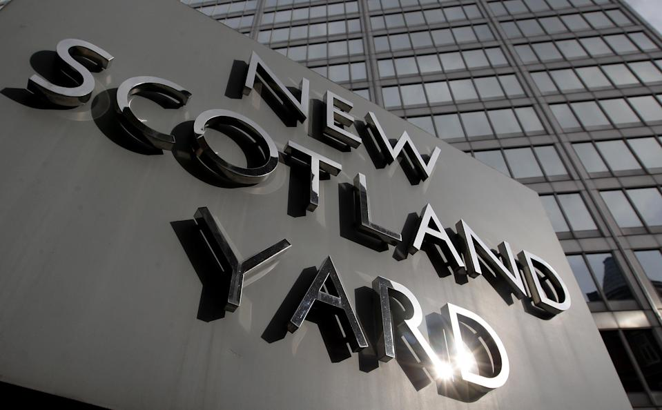 <p>Met police anti-terror officers have made two arrests </p> (PA)