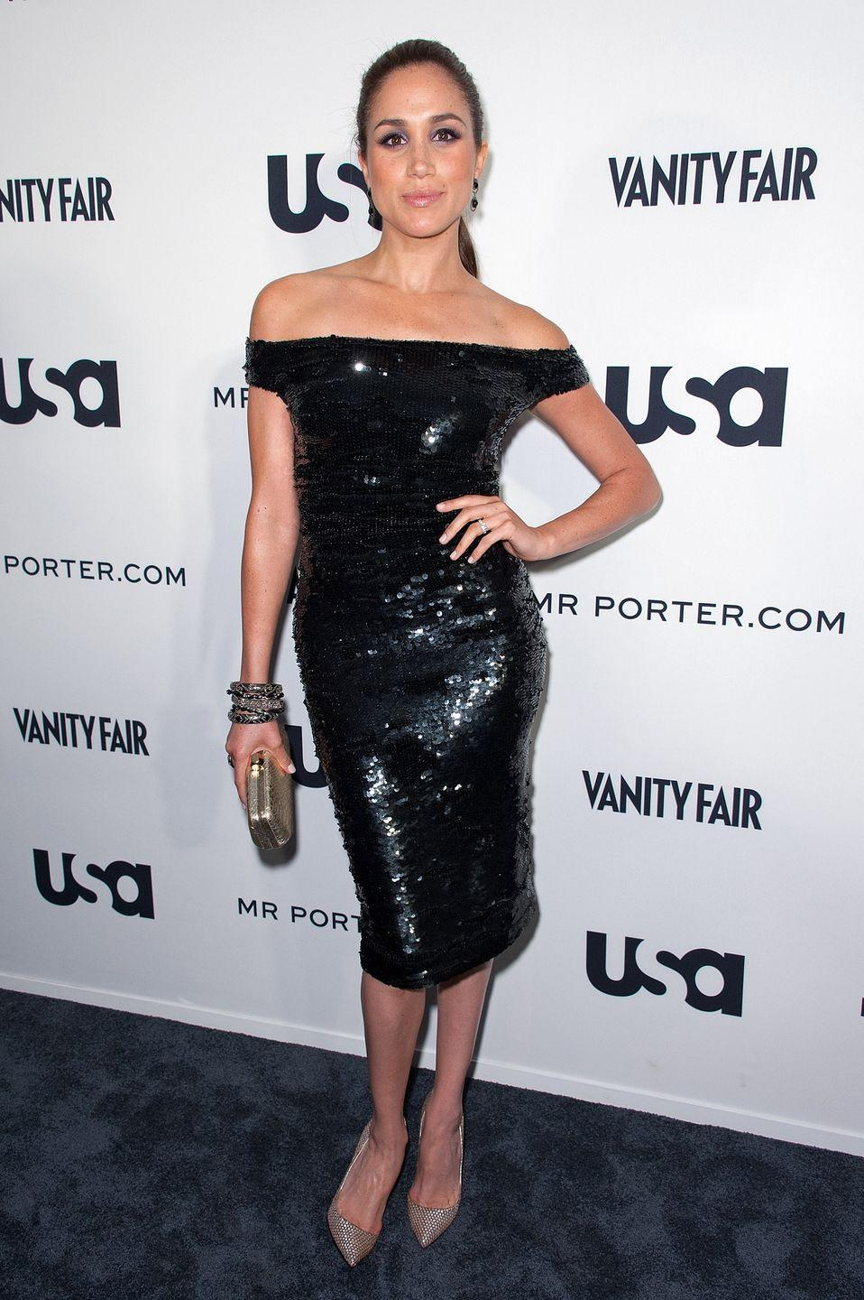 <p>USA Networks a 'Suits' Story fashion show, June 2012</p>