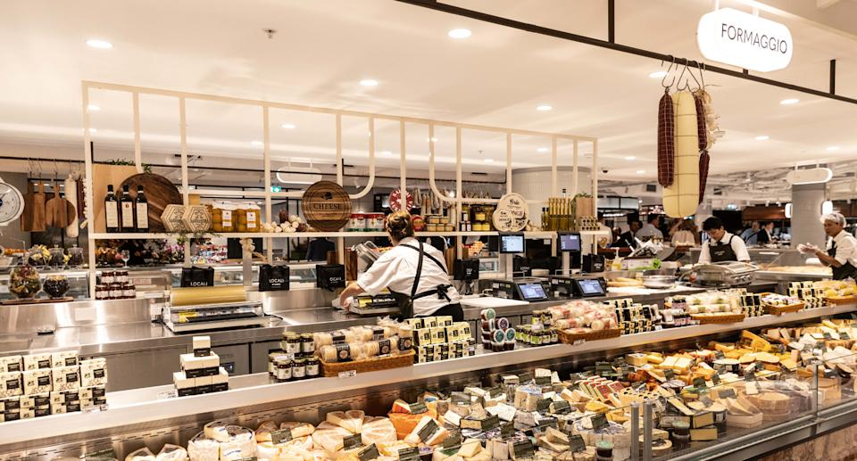 Shoppers can peruse an extensive range of cheese inside the store. Source: Supplied
