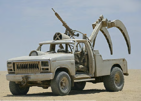 SABRE TOOTH: F250 CLAW CAR from Mad Max Fury Road