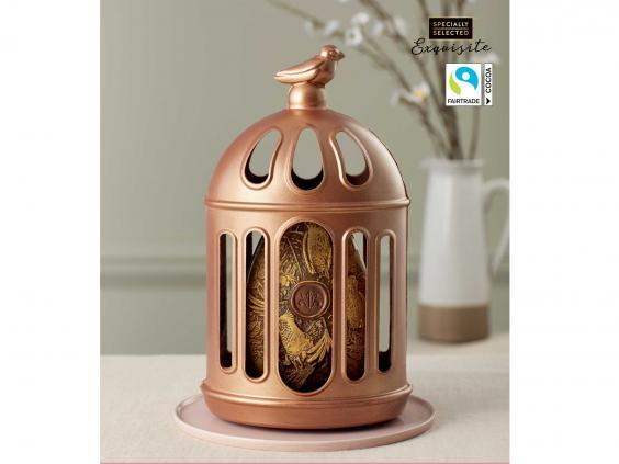 The Aldi Exquisite Bird Cage Easter Egg (Aldi)