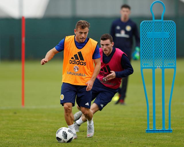 Ryan Fraser was left out of Scotland's squad for their clash with Albania