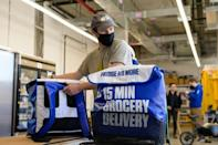 More than $14 billion has been invested in grocery delivery services worldwide since early 2020