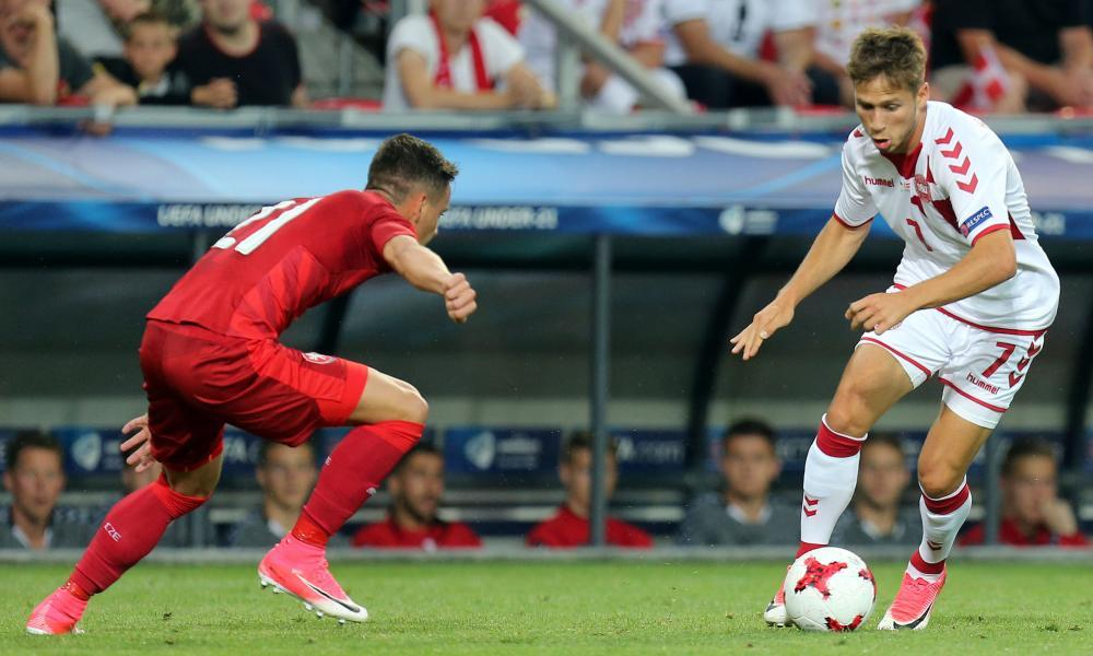 """<img alt=""""Clockwise from left: Luka Jovic, Moise Kean, Jonathan Tah, Phil Foden and Josip Brekalo."""" width=""""1000"""" height=""""600""""><span>Clockwise from left: Luka Jovic, Moise Kean, Jonathan Tah, Phil Foden and Josip Brekalo.</span> <span>Composite: Getty Images, Shutterstock, composite by Daffydd Bynon</span>  <h2>Jean-Philippe Mateta, France</h2> <p>Age <strong>21</strong> Position <strong>Striker </strong>Club <strong>Mainz</strong></p> <p>Having grown up on the outskirts of Paris, the forward, born to Congolese parents, struggled to find a club until joining Châteauroux aged 16. There he caught the attention of Lyon but made only two appearances for the Ligue 1 club before a prolific loan at Le Havre, which prompted Mainz to pay €8m last summer. He scored 14 goals to propel them to safety and will provide France's firepower, alongside Moussa Dembélé and Marcus Thuram, son of the former defender Lilian. """"JP always wants to work,"""" said Oswald Tanchot, his former coach. """"Every morning, he would ask what he could do in addition to the day's training."""" At 6ft 4in, Mateta says his style is similar to Zlatan Ibrahimovic.</p> <h2>Dani Olmo, Spain</h2> <p>Age <strong>21</strong> Position <strong>Winger</strong> Club <strong>Dinamo Zagreb</strong></p> <p>There are no Barcelona players in Spain's squad but in Olmo they possess a La Masia graduate. The Catalan joined Barça's academy from Espanyol aged nine but left at 16 for a clearer route to first-team football and has made more than 100 senior appearances. """"My former teammates were first shocked and then they understood my decision to move was the right one,"""" he said. He has won four league titles in five seasons in Croatia. A superb campaign, including 12 goals, culminated in Olmo winning the player of the year and young player of the year awards. Valencia, Milan, Bayer Leverkusen – and Barça – are reportedly keen.</p>    The Fiver: sign up and get our daily football email.   <h2>Phil Foden, England</h2> <p>Age <strong>19</s"""
