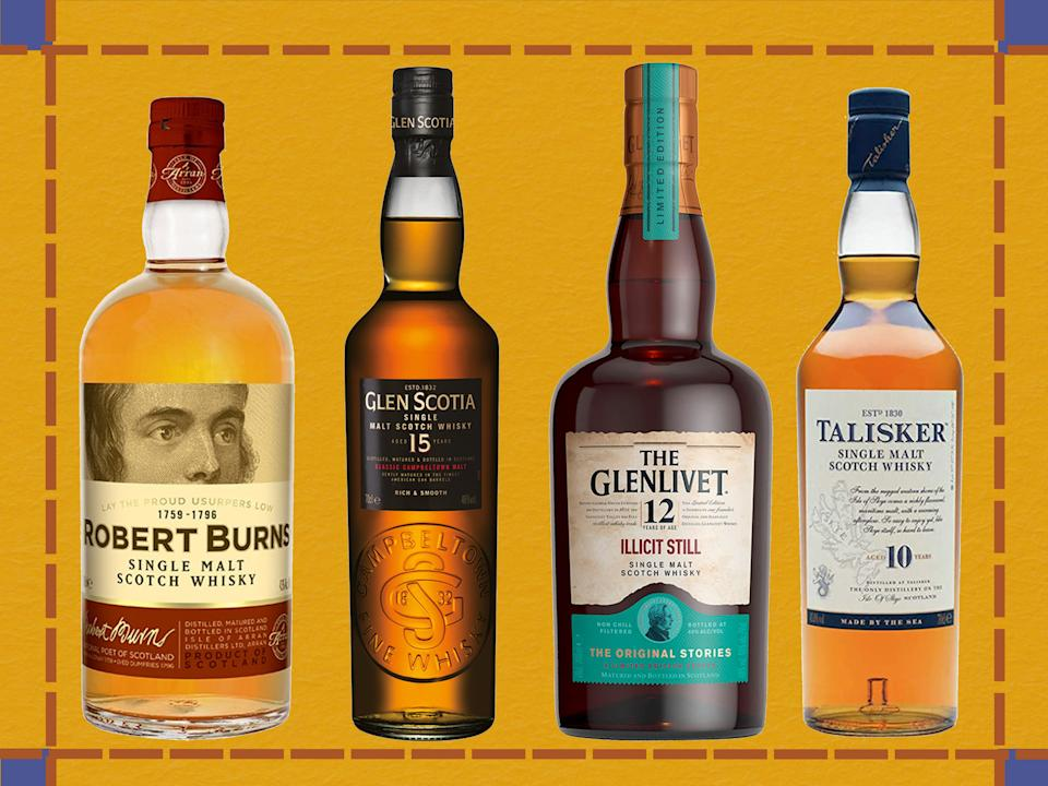 <p>From Glenlivet to Talisker, we've sipped the finest drams</p> (iStock/The Independent)