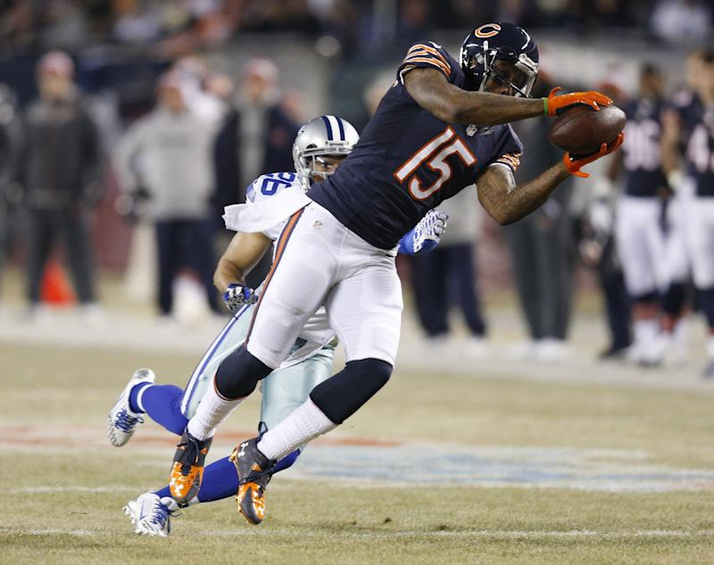 American Football - Bears receiver Marshall in hospital with lung injury