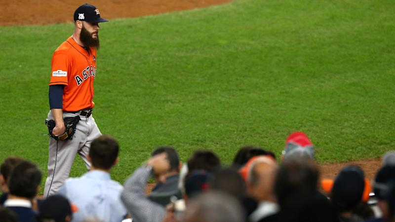 Astros ace Dallas Keuchel pitched throughout postseason with foot injury