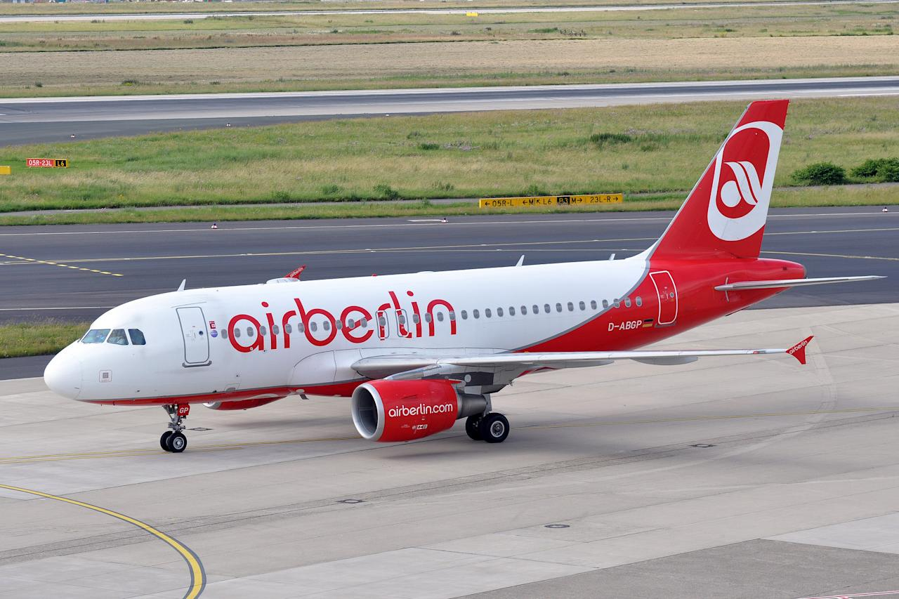 "<p>No. 8 least punctual airline: Air Berlin<br />OTP Rating: 75.61<br />(<a rel=""nofollow"" title=""Go to ERIC SALARD's photostream"" href=""https://www.flickr.com/photos/airlines470/"">ERIC SALARD </a>/ Flickr) </p>"
