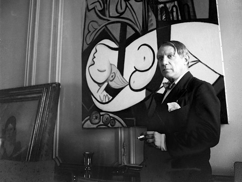 Cecil Beaton's photograph of Pablo Picasso, rue La Boétie, 1933, Paris: The Cecil Beaton Studio Archive at Sotheby's