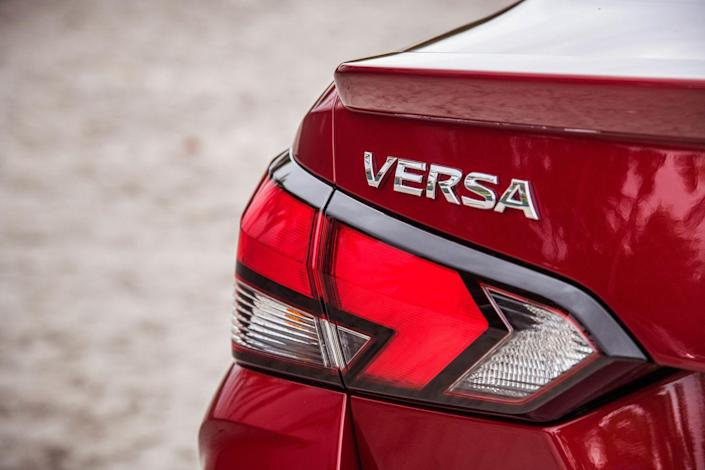 View the All-New 2020 Nissan Versa in Photos