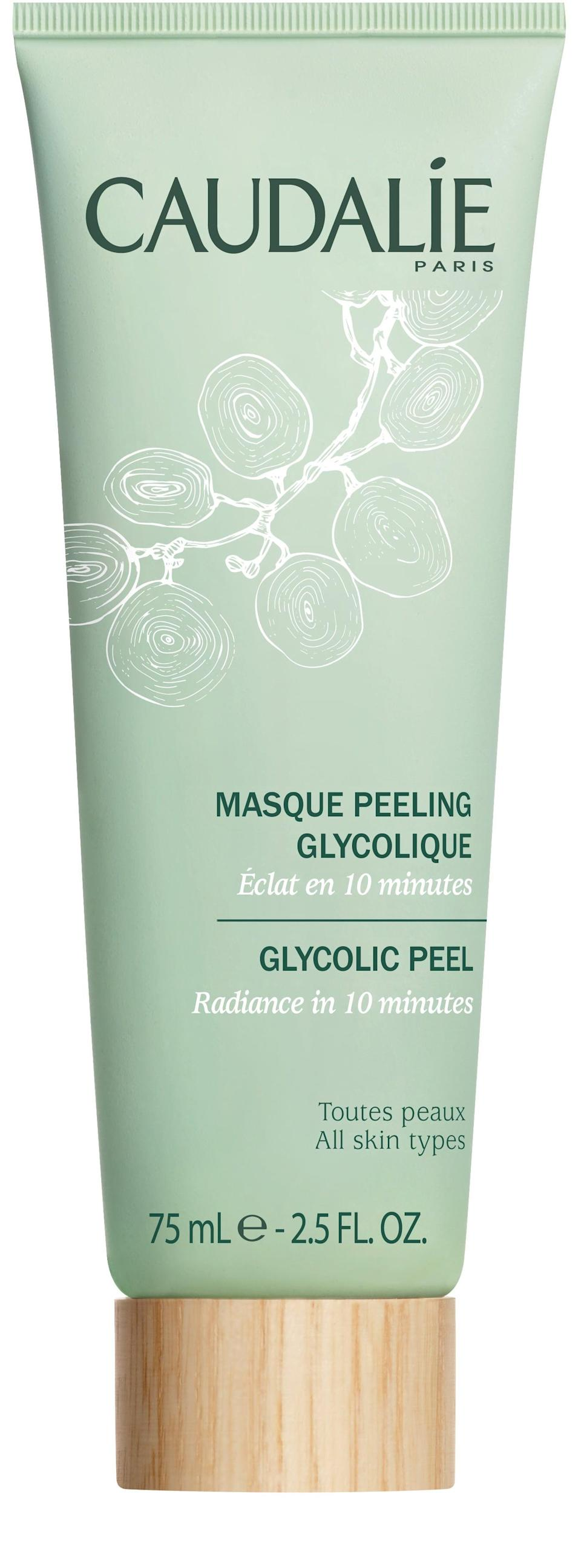 <p>Most people with sensitive skin tend to avoid glycolic acid. However, used in the right formula and alongside the right mix of ingredients, it can actually be a real savior to help strengthen the protective skin barrier over time. Formulated with over 85 percent natural origin ingredients, the <span>Caudalie Glycolic Peel</span> ($39) is a good entry point. It works as both a scrub or a peel, exfoliating and brightening up dull skin all at once. While it is a very effective 10-minute treatment, it's still super gentle and won't irritate your skin.</p>