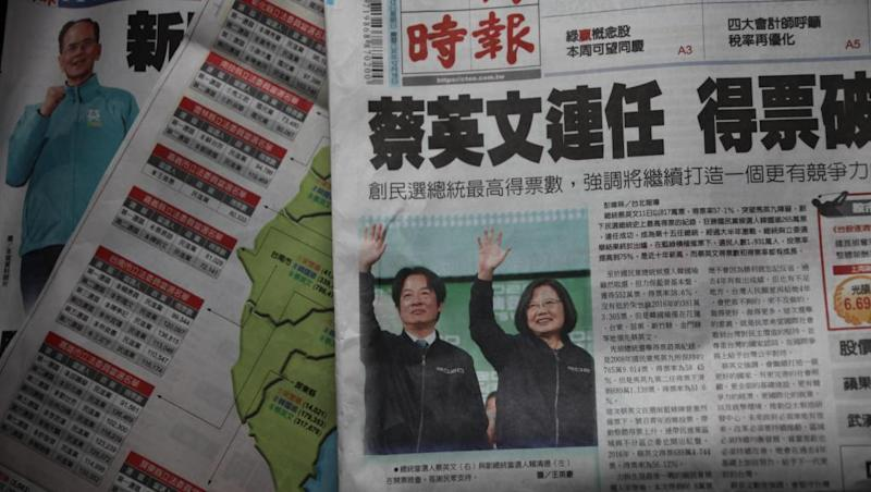 Furious Beijing warns DPP against any ideas about independence after victory in Taiwan
