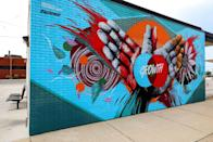 """<p>Detroit is once again a thriving city with history to revisit and lots of new landmarks to explore. The best way to see all the Motor City has to offer is to set out on a <a href=""""https://detroit.curbed.com/maps/public-art-detroit-mural-statue"""" rel=""""nofollow noopener"""" target=""""_blank"""" data-ylk=""""slk:walking art tour"""" class=""""link rapid-noclick-resp"""">walking art tour</a>. Plenty of public works can be found throughout the city, especially in the Grand River Creative Corridor where eye-catching murals are in no short supply. The City Sculpture park, dotted with interesting metal sculptures of all shapes and sizes, is another must-see spot.</p>"""