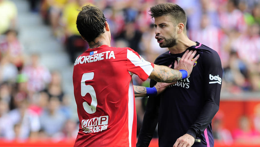 <p>No player in Europe's top five leagues has received more cards than Sporting Gijon's ill-disciplinedFernando Amorebieta, who has received 10 yellow cards in 14 games.</p> <p><br /> The defender, who is somehow yet to receive a red card,has been suspended more than once already this season for the 18th placed La Liga side.</p>