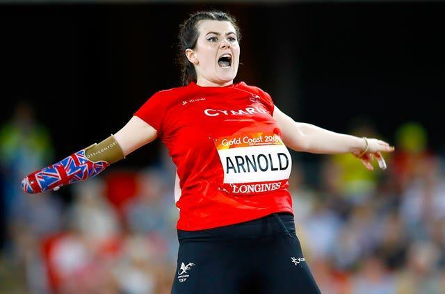 Hollie Arnold won gold at the Commonwealth Games in Australia in 2018
