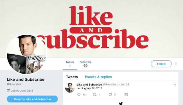 Like and subscribe on Twitter.