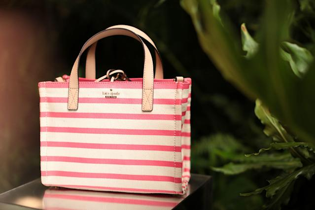 <p><strong>Top handbag brands</strong><br>No. 2: Kate Spade<br>16 per cent of teens<br>(Canadian Press) </p>