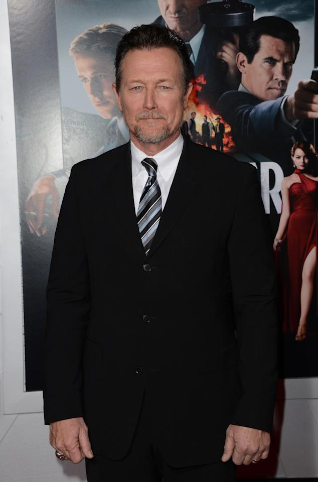 HOLLYWOOD, CA - JANUARY 07:  Actor Robert Patrick  arrives at Warner Bros. Pictures' 'Gangster Squad' premiere at Grauman's Chinese Theatre on January 7, 2013 in Hollywood, California.  (Photo by Jason Merritt/Getty Images)