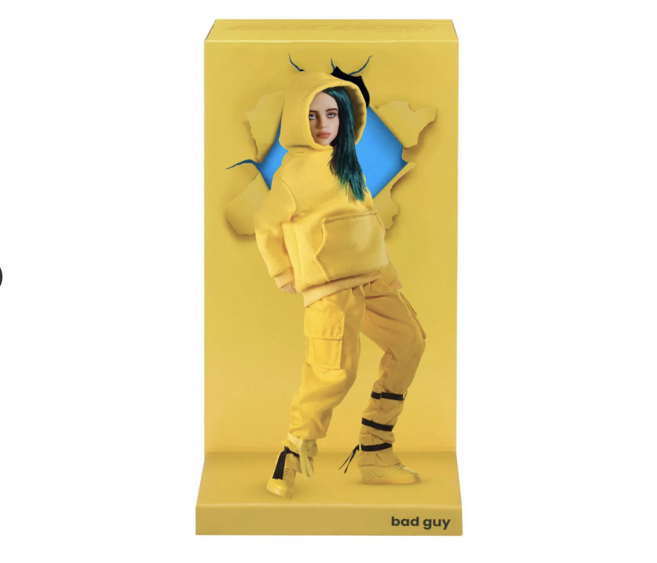 "<p><strong>Billie Eilish</strong></p><p>target.com</p><p><strong>$29.99</strong></p><p><a href=""https://www.target.com/p/billie-eilish-figure-bad-guy/-/A-80176974"" rel=""nofollow noopener"" target=""_blank"" data-ylk=""slk:Shop Now"" class=""link rapid-noclick-resp"">Shop Now</a></p><p>Welp. I didn't think I'd be adding a doll to my holiday wish list this year, but here we are!</p>"