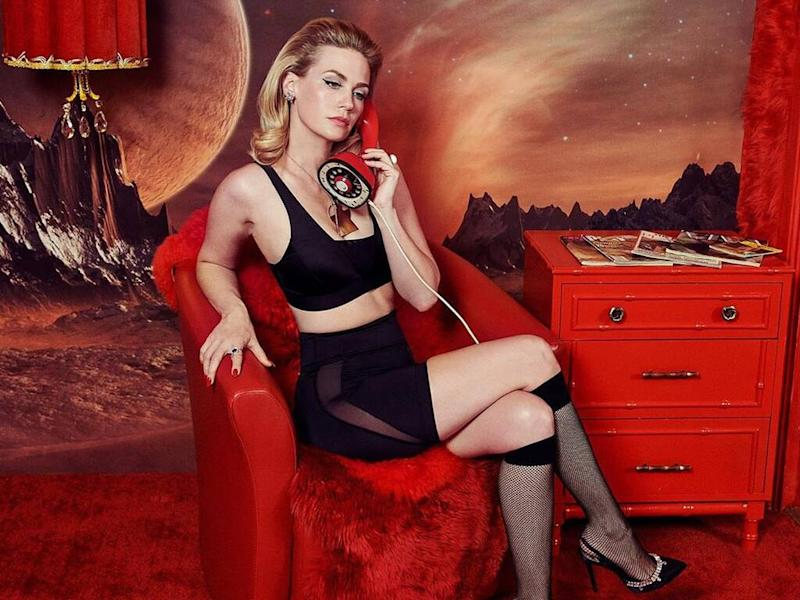 January Jones collaborates with Pair of Thieves on capsule collection