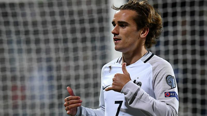 Antoine Griezmann Luxembourg France WC Qualifier