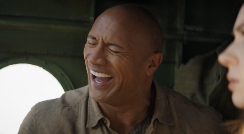 Even The Rock corpses. (Sony Pictures)