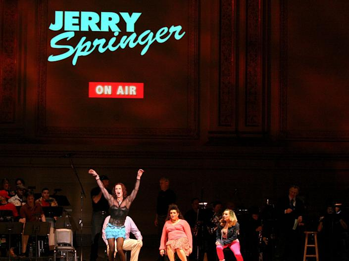 'Jerry Springer: The Opera'Rex Features