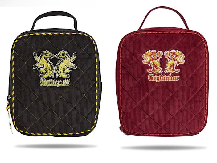 The Hufflepuff and Gryffindor designs.