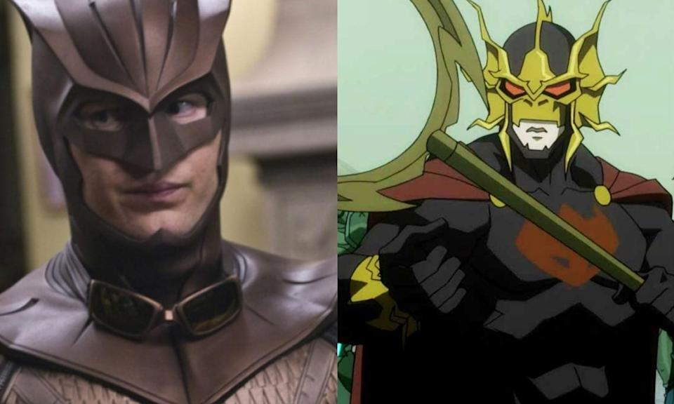 <p>Patrick Wilson played Nite Owl in <em>Watchmen</em> but will soon be seen as Orm, Arthur Curry's evil half-brother in James Wan's new <em>Aquaman</em> movie. </p>