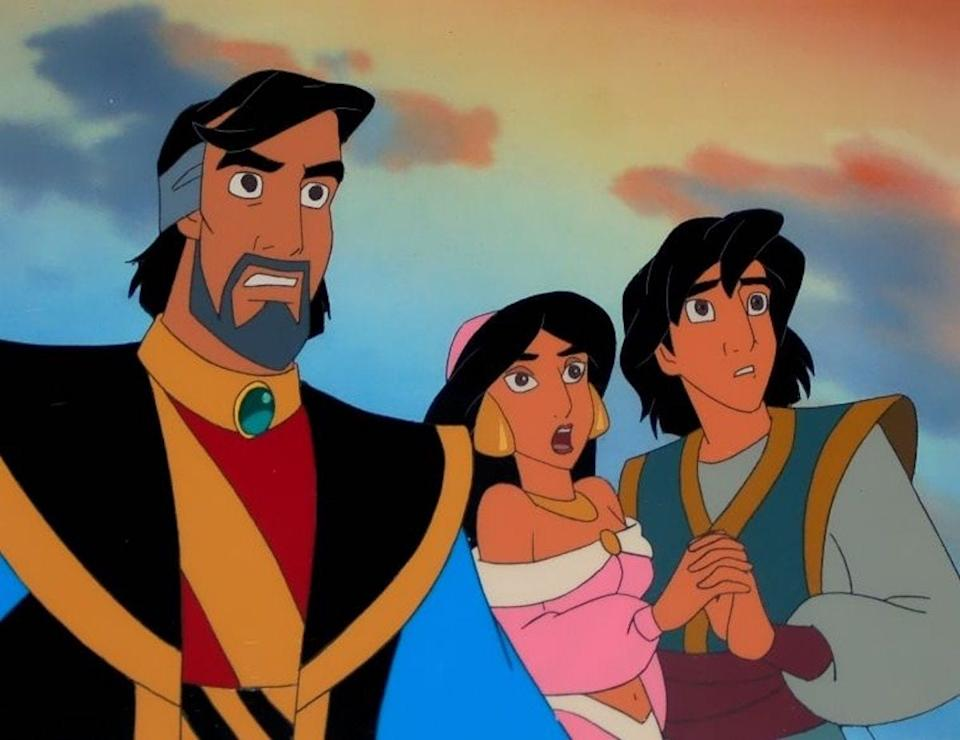 """""""Aladdin and the King of Thieves"""" introduces Aladdin's long-lost father."""