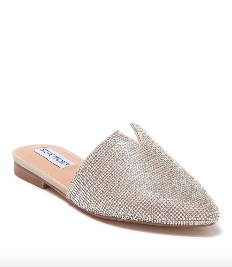 Steve Madden 'Ally' Rhinestone Mule (Photo via Nordstrom Rack)