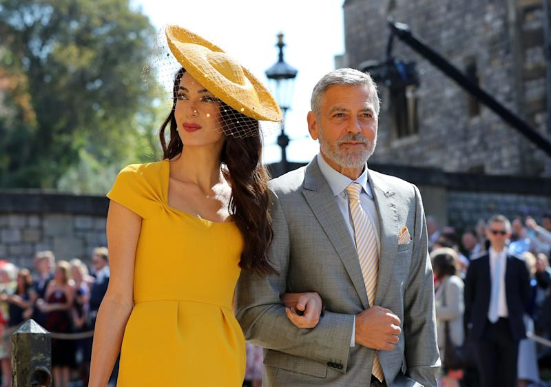 A union of the British royal family and the world of acting? Seems like the perfect event for actual Hollywood royalty George Clooney and his always-impressive human-rights-lawyer-turned-red-carpet-must-see Amal.<br /><br />Meghan Markle&rsquo;s friendship with Amal Clooney was revealed by their shared hairstylist, Miguel Perez, who told The Mail: &ldquo;I do Meghan's hair [and] I do Amal's, and Meghan is friends with her. Amal put Meghan and me together when she moved here [to London]. I do her colour, her cut and her styling.&rdquo;<br /><br />We do love an A-list friendship based on hairstyling.