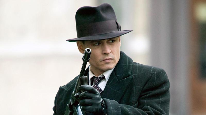 In one email, Depp said his last proper paycheck was for his portrayal of John Dillinger in 2009 crime drama Public Enemies (pictured)