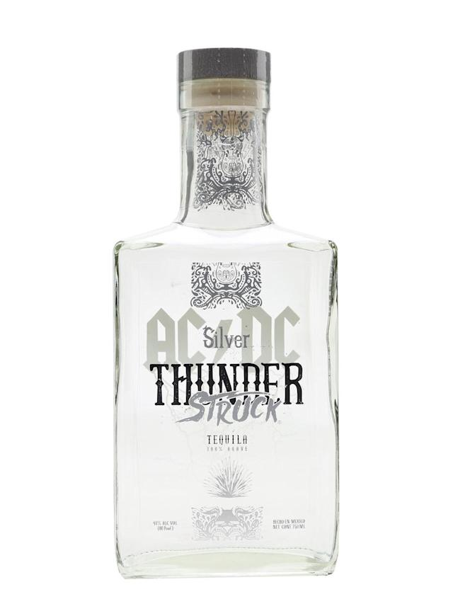 <p>Australian rockers AC/DC partnered with Fabrica de Tequilas Finos in 2016 to release Thunderstruck tequila, named after their epic 1990 track. The spirit will be available in blanco, reposado and anejo varieties. </p>