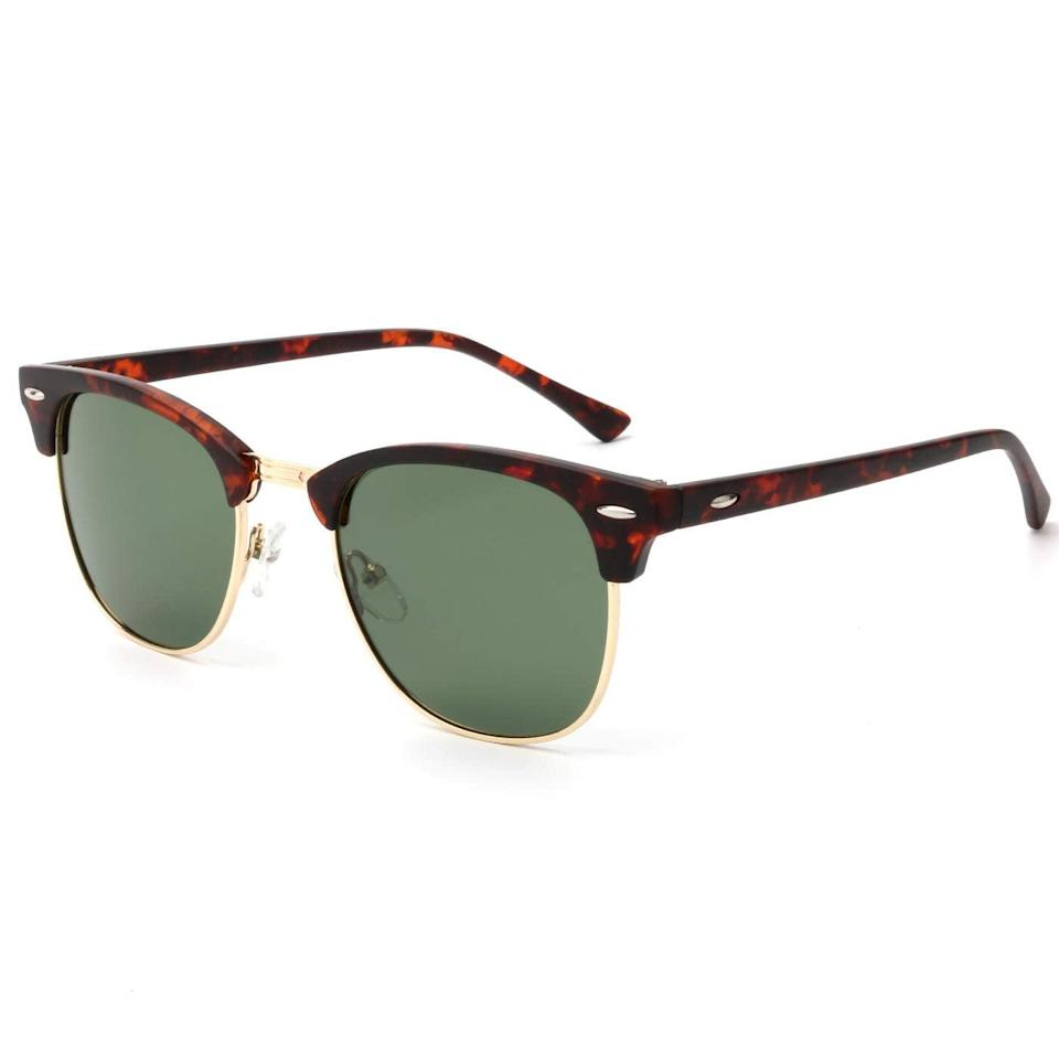 """<h2>Kaliyadi Unisex Polarized Sunglasses</h2><br>Buy this pair to go head to head with your long-lost favorites. They are simple and universal, so a wide variety of people can rock these confidently.<br><br><strong>The Hype: </strong>4.6 out of 5 stars and 2,703 reviews<br><br><strong>What They Are Saying:</strong> """"I lost my glasses and instead of buying new expensive ones I thought I would give [these] a try. These glasses are great. I got the ones with green lenses. Just try them! And my eyes feel well protected on a sunny day. Not sure how they will be after a month of usage. I would love for them to feel a bit heavier and more stable."""" - Lore<br><br><em>Shop <strong><a href=""""https://amzn.to/3wCGduR"""" rel=""""nofollow noopener"""" target=""""_blank"""" data-ylk=""""slk:Kaliyadi"""" class=""""link rapid-noclick-resp"""">Kaliyadi</a></strong></em><br><br><strong>Kaliyadi</strong> Unisex Polarized Sunglasses Stylish Sun Glasses for Men and Women Color Mirror Lens Multi Pack Options, $, available at <a href=""""https://amzn.to/3pHY9Bz"""" rel=""""nofollow noopener"""" target=""""_blank"""" data-ylk=""""slk:Amazon"""" class=""""link rapid-noclick-resp"""">Amazon</a>"""
