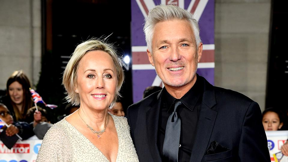 Shirlie and Martin Kemp on the red carpet at The Daily Mirror Pride of Britain Awards, in partnership with TSB, at the Grosvenor House Hotel, Park Lane.