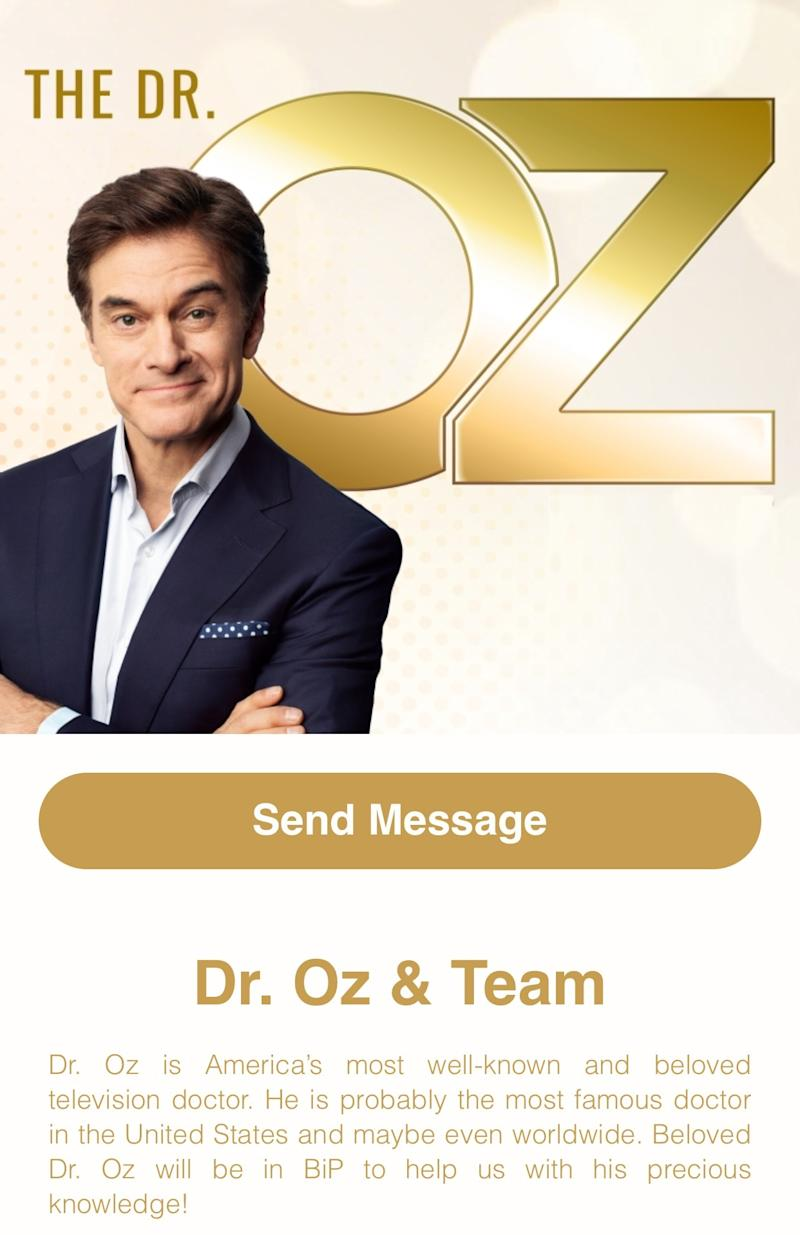 Renowned Turkish Dr. Oz is on BiP Now!